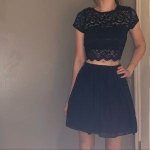 Dresses & Skirts - Two piece dress. Covers bellybutton (scar showing)